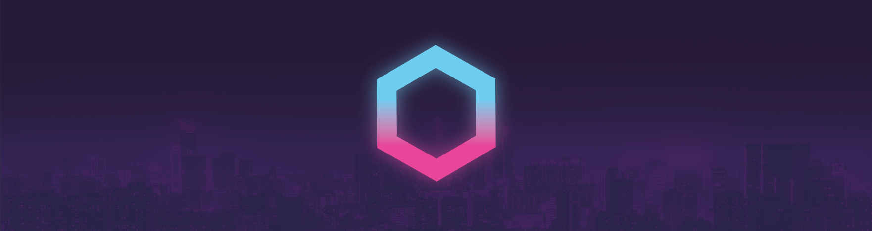 The Synthwave 84 logo banner
